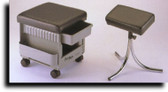 Kayline 502 Portable Pedicure Cabinet/Stool