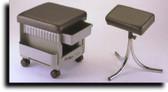 Kayline 502 Portable Pedicure Cabinet/Stool