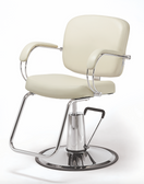 Pibbs 3906 Latina Styling Chair with Round Base