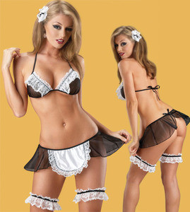 Sexy French Upstairs Chamber Maid Bar Wench Lingerie Costume