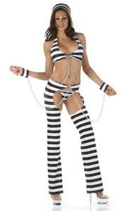 Naughty Convict Prisoner Costume
