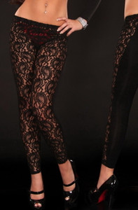 Naughty Lace Legging