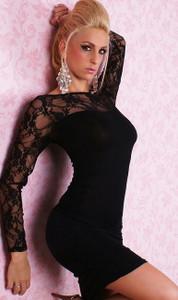 SEXY GOGO Black Fashion Dress