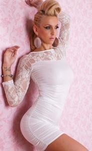 SEXY GOGO White Fashion Dress