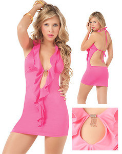 Pink Lady Mini Dress