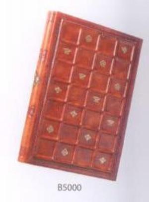 Italian Leather Address Book - Siena