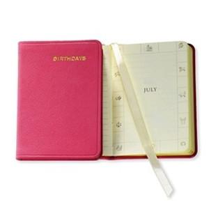 Birthday Book - Pink