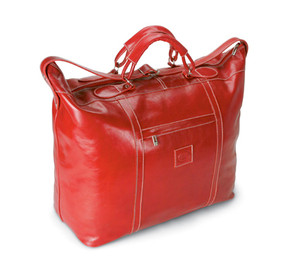 Red Everywhere tote