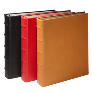 Leather Loose-Leaf Address Book