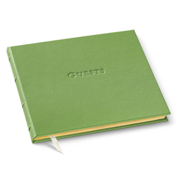 Guest Book - Recycled Leather