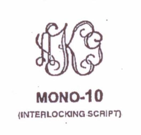 Center initial option: style Mono10