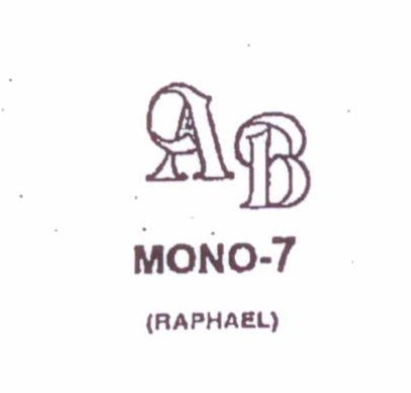 Center initial option: style Mono7