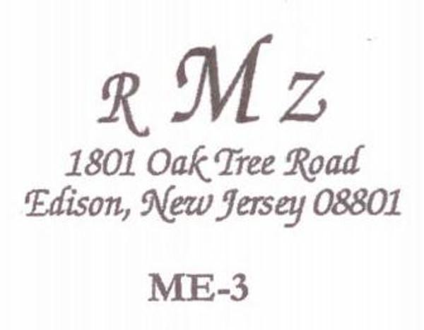 Monogram Address #3