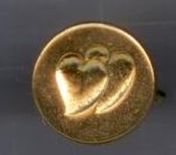 Wax Seal Stamper - Double Hearts