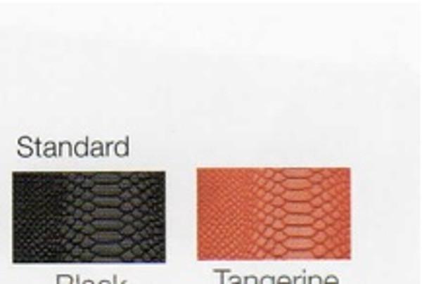 Python Phone Case Colors - Black and Tangerine