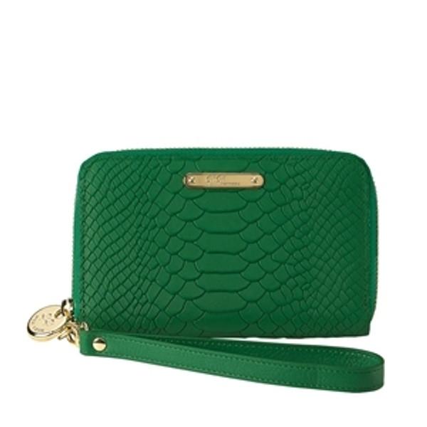Wristcase Python Seagrass Green