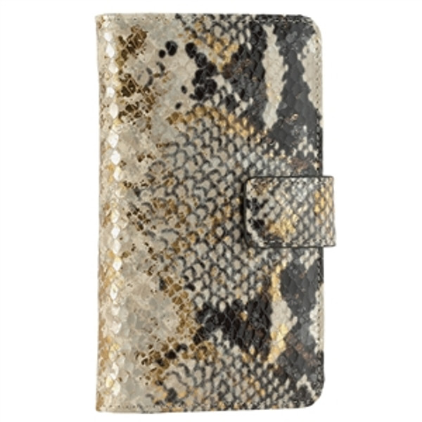iPhone 6S / 6 Case Gold Wash Python Leather