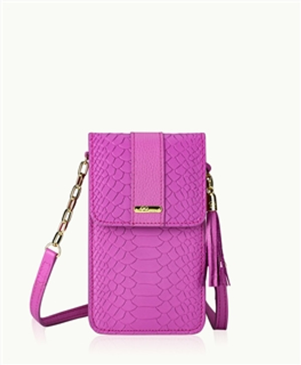 Python Leather - Sunset Fuchsia