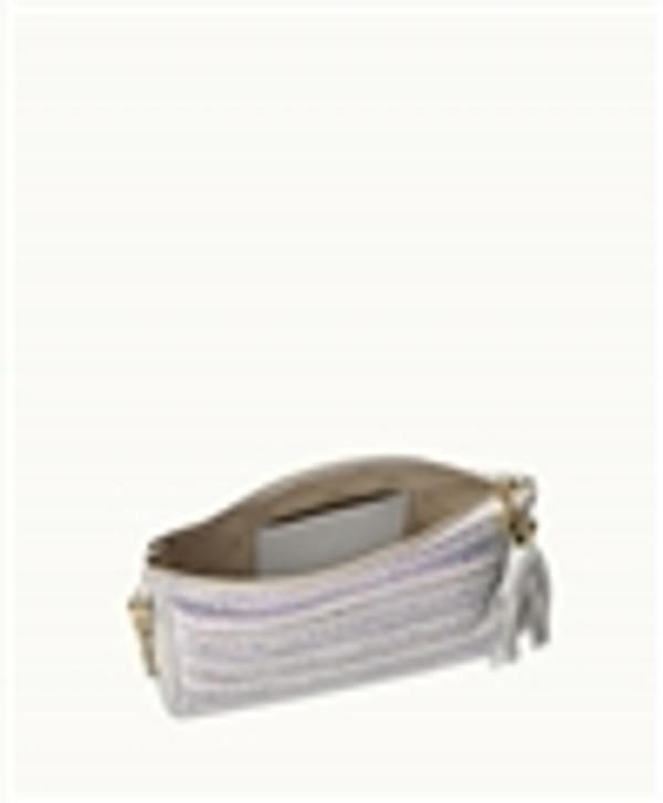 Cross Body Havanna Phone Bag Interior with Phone and Card Pockets
