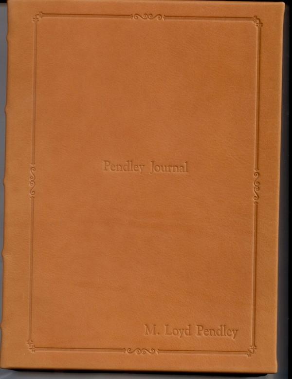 British Tan Leather Jornal