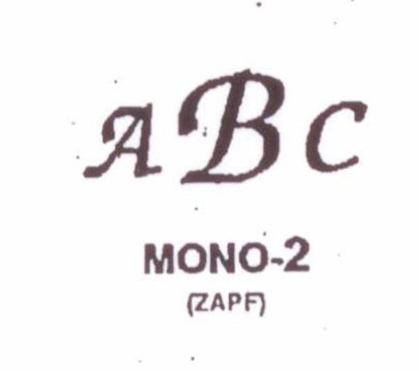Center initial option: style Mono2