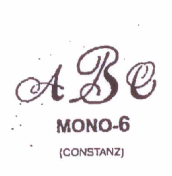 Center initial option: style Mono6