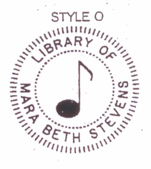 Style O musical note