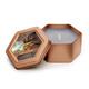Tobacco Vanilla Honeycomb Traveler in Platinum color.