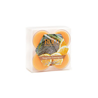 Tangerine Lemongrass - A blend of citrus, grapefruit, bergamot, and lemongrass, mixed with orange blossoms and mandarin, added to cedarwood, musk, and vanilla.