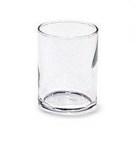Clear Straight Sided Votive Glass