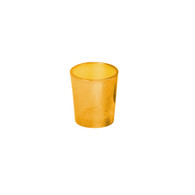 Votive Glass Amber