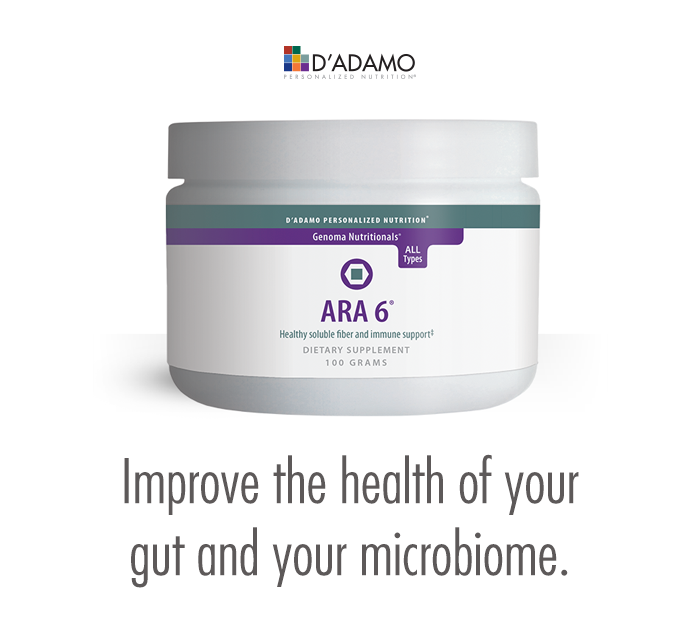 Improve the health of your gut and your microbiome