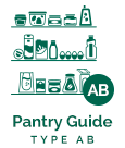 Type O - Pantry Guide