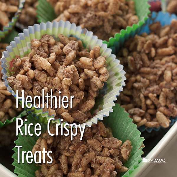 Healthier Rice Crispy Treats