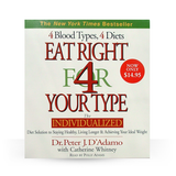 Eat Right For Your Type  Audio Book CD