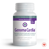 Genoma Cardia supports healthy heart function.