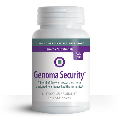 Boost immune health with Genoma Security.