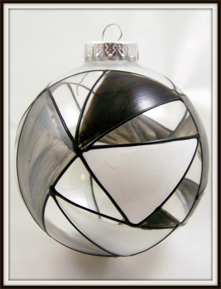 Hand-painted Granite Ornament
