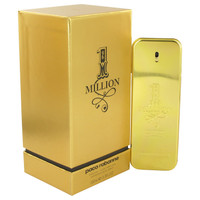 1 Million Absolutely Gold By Paco Rabanne 3.3 oz Pure Perfume Spray for Men