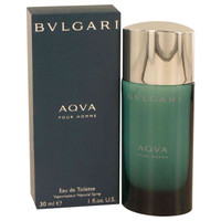 Aqua Pour Homme By Bvlgari 1 oz Eau De Toilette Spray for Men