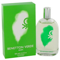 Verde By Benetton 3.3 oz Eau De Toilette Spray for Men