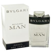 Man By Bvlgari 3.4 oz Eau De Toilette Spray for Men