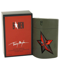 B for Men By Thierry Mugler 1.7 oz Eau De Toilette Spray Rubber Flask for Men