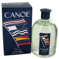 Canoe By Dana 8 oz After Shave Splash for Men
