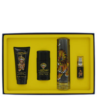 Ed Hardy By Christian Audigier Gift Set with Deodorant Stock for Men