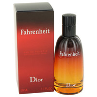 Fahrenheit By Christian Dior 1.7 oz Eau De Toilette Spray for Men