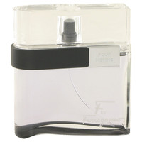 F Black By Salvatore Ferragamo 3.4 oz Eau De Toilette Spray Tester for Men