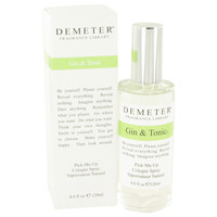Gin & Tonic By Demeter 4 oz Cologne Spray for Men