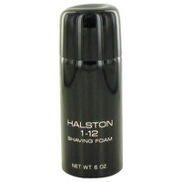 Halston 1-12 By Halston 6 oz Shaving Foam for Men
