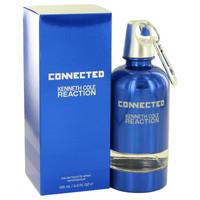 Reaction Connected By Kenneth Cole 4.2 oz Eau De Toilette Spray for Men